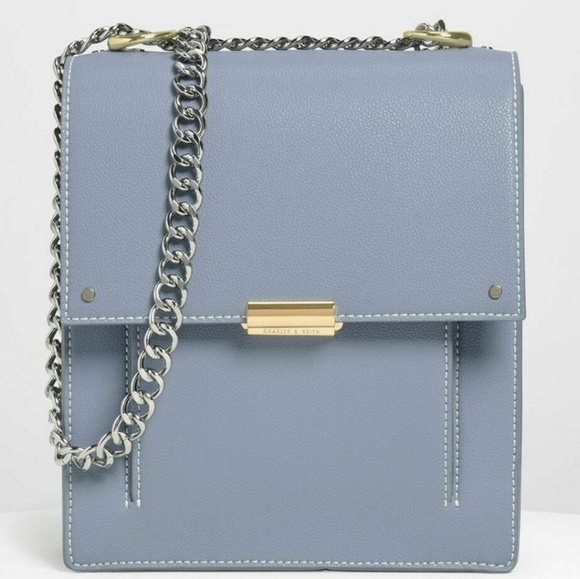 BRAND NEW CHARLES & KEITH Chain Strap Messenger